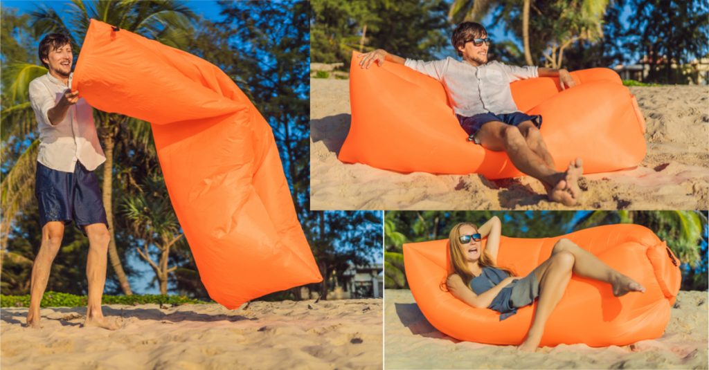 Super easy, versatile inflatable sofa/lounger