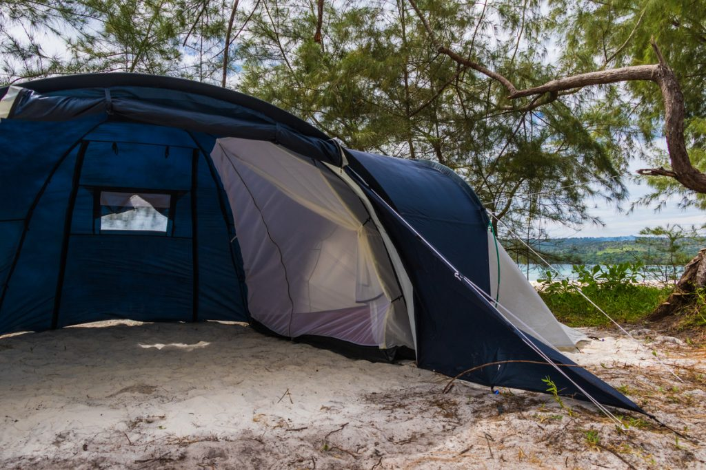 Bigger tents really do make your camping experience much more comfortable
