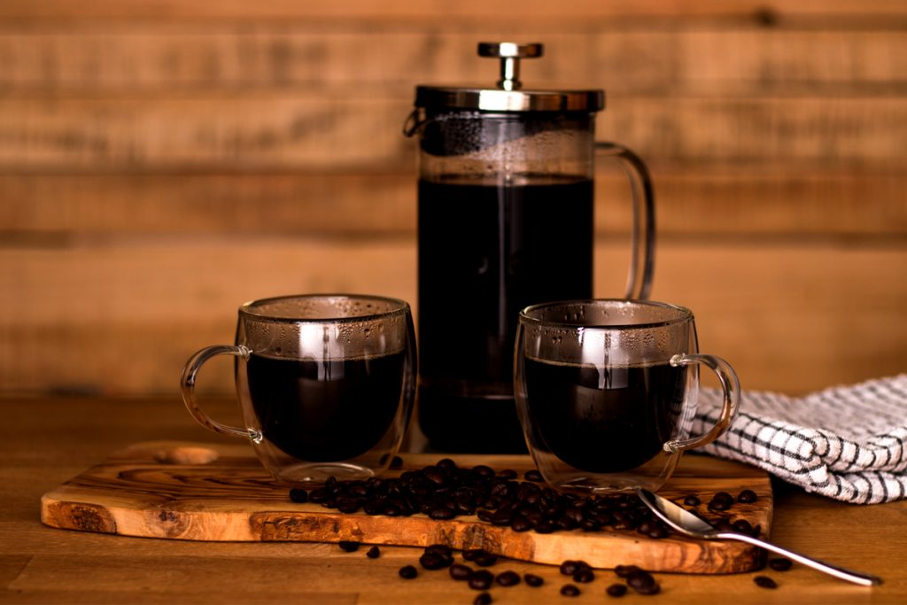 French Press - One neat way to make great coffee while camping