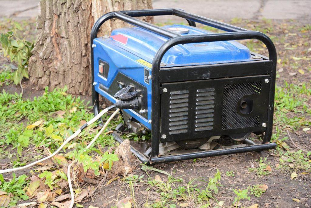 Traditional camping generator