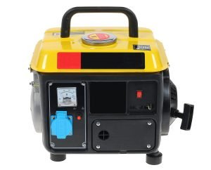 Small, quiet, efficient camping inverter generator