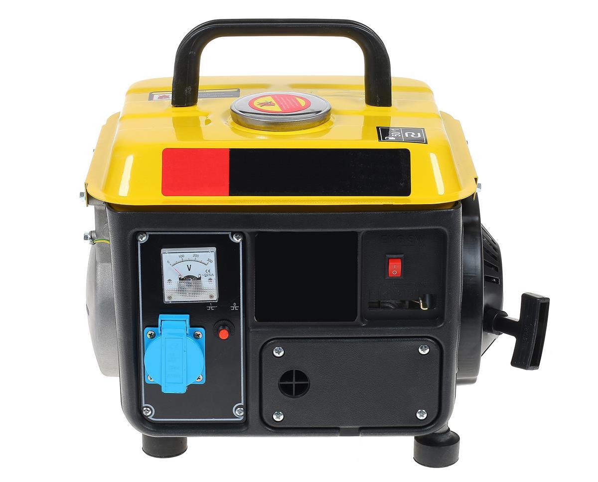 Small, quiet, efficient camping inverter generator