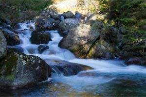 Beautiful Stream Flowing Over Rocks - but How to Get Fresh Water While Camping