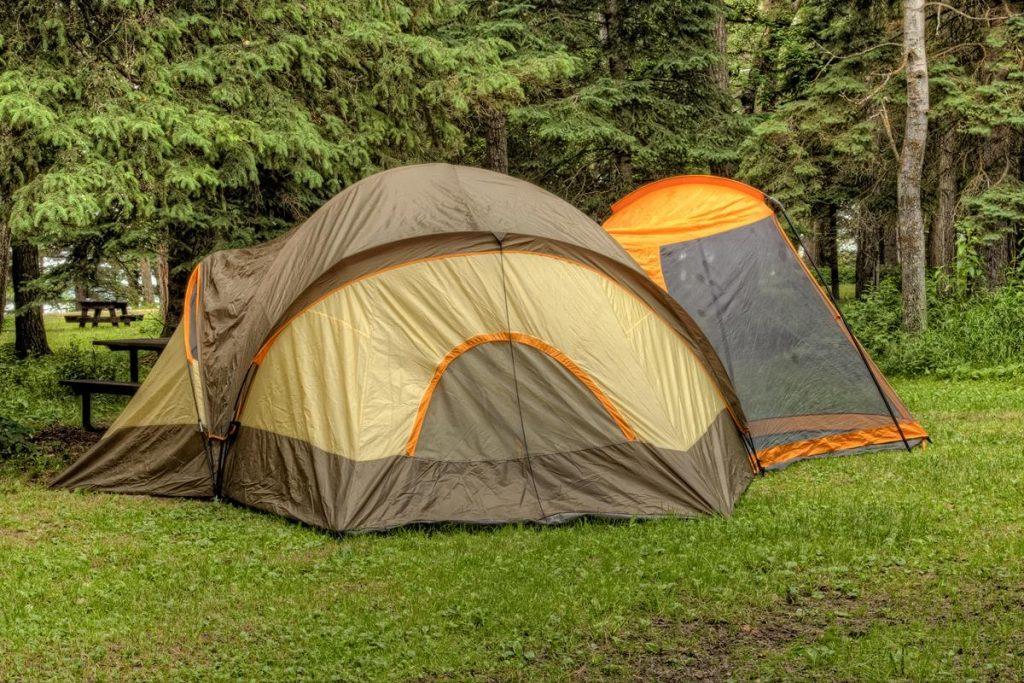 Large dome tents