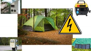 Is Electricity in my tent safe